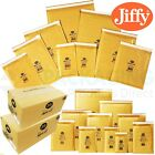JIFFY BUBBLE ENVELOPES GENUINE Airkraft Gold Mailers JL5 - 260mm x 345mm