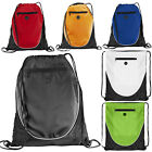 EUROTSHIRTS PEEK DRAWSTRING GYMSAC - GYM PE FOOTBALL SPORTS BAG- 6 COLOURS