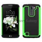NEW Hybrid Rugged Rubber Hard Case for Android Phone LG K7 / Tribute 5 700+SOLD