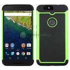 LOT Hybrid Rubber Hard Case for Android Phone Huawei Google Nexus 6 6P 50+SOLD