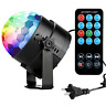 Disco Ball Disco Lights-COIDEA Party Lights Sound Activated Storbe Light With DJ