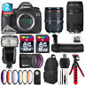 Canon EOS 5DS DSLR + 24-105mm 4L IS II + 70-300mm III + Pro Flash - 48GB Kit