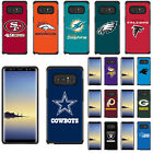 Samsung Note 8 - Official NFL Fan Case Pebble Shockproof Impact Armor Hard Cover
