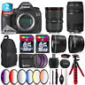 Canon EOS 5DS DSLR + 24-70mm f/2.8L II + 75-300mm III + Backpack - 48GB Kit