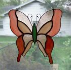 Handmade Stained Glass BUTTERFLY SUNCATCHER (BF65)