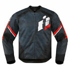 Icon Overlord Primary Jacket Red Mens sizes M-2XL