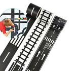 US DIY Traffic Railway Road Play Adhesive Tape Stickers Car Track Removable Toys