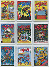DC Comics Justice League All Star Comics Complete 9 Card Chase Set