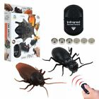 Remote Control Mock Fake Cockroach RC Prank Insects Joke Scary Trick Bugs Toys
