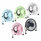 Mini Portable USB Fan METAL Quiet Desktop Desk Silent Laptop PC Cooler Cooling