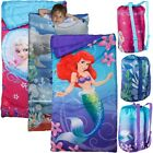 Disney Kids Indoor Sleeping Bag – Drawstring Carry Backpack