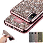 3D Luxury Bling Diamond Crystal Glitter Soft Phone Case Cover for Apple iPhone X