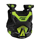 Thor 2017 Youth Sentinel GP Chest Protector - Black/Flo Green