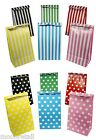 Paper Candy Bags Party Loot Sweet Treat Buffet Cake Wedding Shop Stripe 10x5