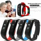 Bluetooth Smart Strap Heart Rate Monitor Blood Pressure Fitness Tracker Watch AU