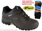 WALKING SHOES GRISPORT HIKING SHOES VIBRAM SOLES GRISPORT DARTMOOR BROWN