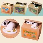 1x Cat Automatic Itazura Steal Stealing Bank Money Coin Collection Saving Box SP