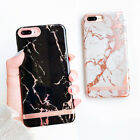 luxury Marble Gold Bar Protertive Hard Cover Phone Case for iphone X 8 6s 7 Plus