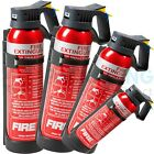 600G BC POWDER FIRE EXTINGUISHER CAR HOME CARAVAN VAN PORTABLE COMPACT HOME TAXI
