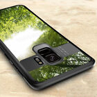 For Samsung Galaxy S9 Plus A8+ 2018 Hybrid Rubber Armor Case Clear Bumper Cover