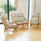 Bail Cane Conservatory Furniture Suite Set with Luxury Cushions