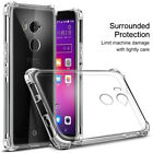 For HTC U11+ /Plus /U11 Life Airbag Shockproof Crystal Soft Case Clear Cover