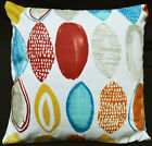 LF815a White Yellow Orange Red Blue Cotton Canvas Cushion Cover/Pillow Cover