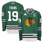 Jonathan Toews Reebok Chicago Blackhawks St Patricks Day Premier Green Jersey