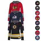 NHL Reebok Authentic Jersey Team Crewdie Pullover Hoodie Collection Women's