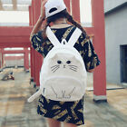 1 PC Student Girls Cat Backpack Schoolbag Satchel Shoulder Bag Travel Bookbag