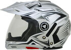 Dual sport motorcycle short riders - AFX ADULT FX-55 Dual Sport Silver Multi Motorcycle Helmet XS-2XL