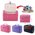 Travel Makeup Bag Toiletry Case Wash Organizer Storage Hanging Pouch Polyester