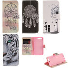 For Various Huawei Wallet Case Cover PU Leather Card Holder Flip Full Protection