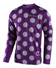 Troy Lee Designs 2018 GP Jersey Polka Dot Purple/Gray All Sizes