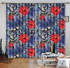 3D Flowers 3234 Blockout Photo Curtain Printing Curtains Drapes Fabric Window AU