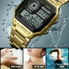 SKMEI Men's Waterproof Stainless Steel Sport Alarm Analog Digital Wrist Watch image