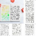 Silicone Animal Rubber Stamps Seal Scrapbooking Diary Album DIY Decoration Gift