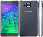 Samsung Galaxy Alpha SM-G850F 32GB Unlocked 12MP 4G LTE GPS SmartPhone 3 colors