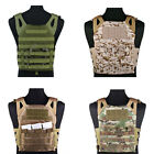 Tactical Molle Modular Plate Carrier Military Paintball Combat Vest Colo4 rs