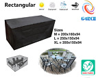 Waterproof Patio Furniture Table Chair Sofa Cover Outdoor Garden Rectangle 420D