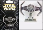 Disney STAR WARS TIE Fighter - LE 6000 Vehicle of the Month Pin w/stand - New
