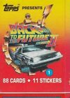 BACK TO THE FUTURE II  BASE / BASIC  CARDS OR STICKERS  CHOOSE  BY TOPPS 1989