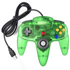 NEW Wired Classic 64 N64 USB Controller For PC & Mac Computer Game Black/Gray US