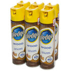 6 Pledge 6oz Furniture Polish Dusting Spray Cans Household Cleaner Dust Remover