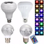 5/12W B22 LED RGB Bluetooth Speaker Bulb Party Music Playing Party Light Lamp