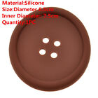 Fun Silicone Button CD Record Coasters Cup Glass Mug Coffee Holder Pad Placemat