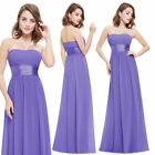 Ever-pretty Long Bridesmaid Wedding Dresses Evening Party Prom Dresses 09955