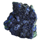 Natural Raw Blue Azurite Crystal  Malachite Mineral Geode Stone Display Specimen