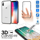 2-IN-1 Premium Hybrid Protective Clear Case Black Bumper for Apple iPhone X/7/8+