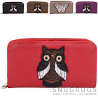 Ladies / Womens / Girls  Large Soft Leather Purse / Money / Coin Holder / Pouch